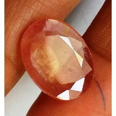 10.45 Carats Padparadscha Sapphire 16.12 x 12.26 x 4.21 mm