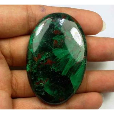 136.58 Carats Chrysocolla 50.64 x 33.12 x 6.58 mm