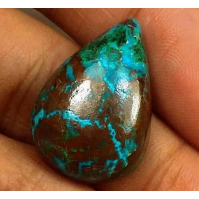 14.93 Carats Chrysocolla 21.51 x 15.22 x 6.52 mm