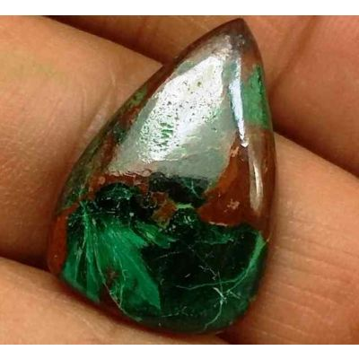 13.41 Carats Chrysocolla 20.82 x 14.38 x 4.62 mm