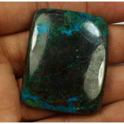 109.79 Carats Chrysocolla 37.00 x 29.52 x 6.56 mm
