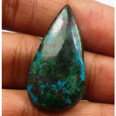 16.27 Carats Chrysocolla 31.40 x 16.16 x 3.77 mm