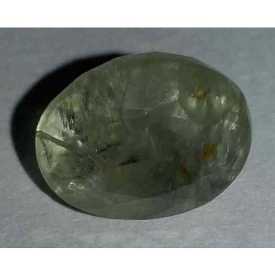 7.12 Carats Light Green Sapphire 11.30x9.15x7.65mm