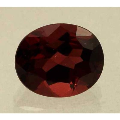 3.16 Carats Rubellite Tourmaline 9.33x7.73x5.07mm