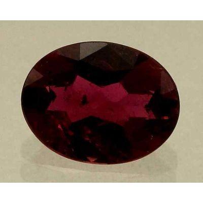 2.07 Carats Rubellite Tourmaline 9.92x7.67x3.96mm