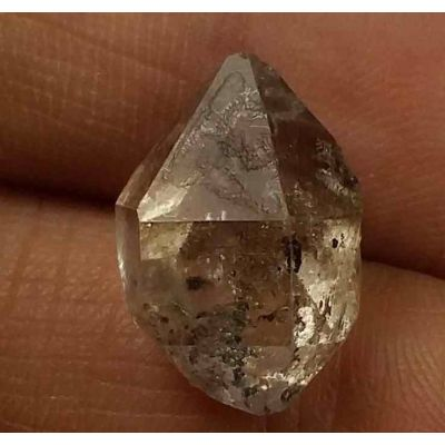 10.8 Carats Herkimer Diamond 18.35 X 12.32 X 6.97 mm