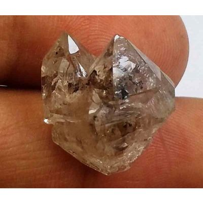 12.39 Carats Herkimer Diamond 15.48 X 11.98 X 10.78 mm