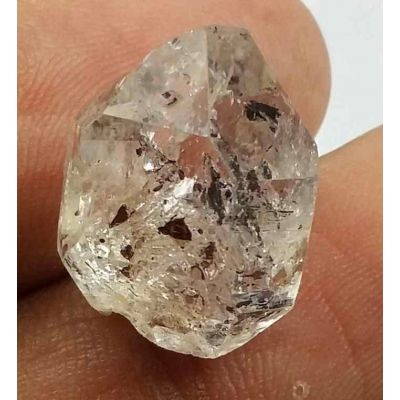 12.54 Carats Herkimer Diamond 15.76 X 13.35 X 12.68 mm