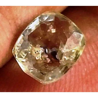1.03 Carats Yellow Sapphire 6.27 x 5.42 x 2.80 mm