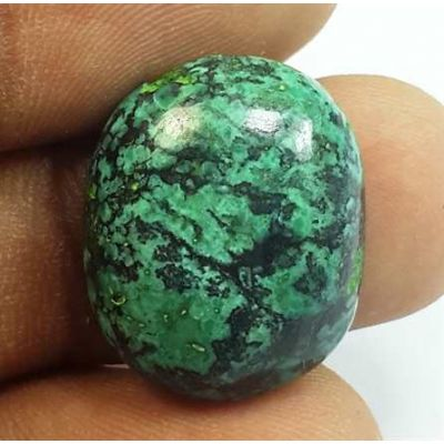13.68 Carats Turquoise 19.45 x 15.90 x 6.24 mm