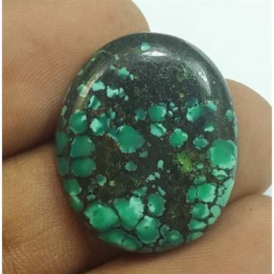 14.66 Carats Turquoise 23.71 x 19.84 x 3.99 mm