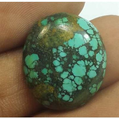 10.95 Carats Turquoise 19.73 x 17.30 x 5.30 mm