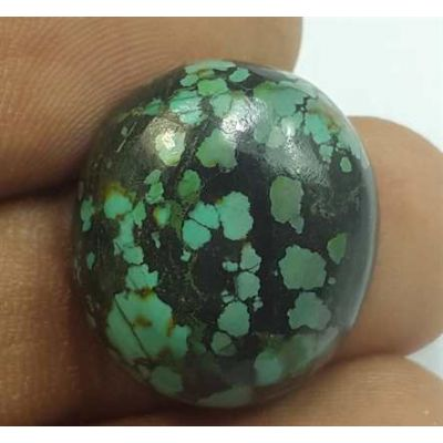 15.31 Carats Turquoise 19.69 x 17.36 x 6.86 mm