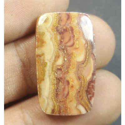 17.42 Carats Wave Dolomite 24.96 x 14.56 x 4.51 mm