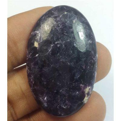 36.84 Carats Lepidolite 38.05 x 24.33 x 5.12 mm