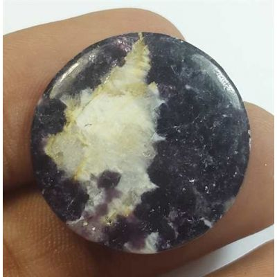 18.66 Carats Lepidolite 23.30 x 23.30 x 3.75 mm