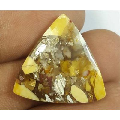 11.51 Carats Mookaite Barritted 19.77 x 19.46 x 4.14 mm