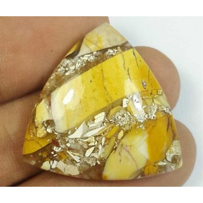 29.73 Carats Mookaite Barritted 28.62 x 28.62 x 6.34 mm
