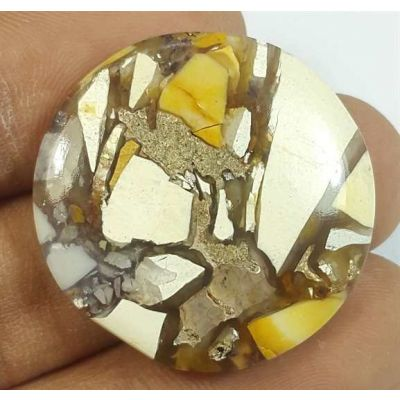 29.91 Carats Mookaite Barritted 28.40 x 28.40 x 5.14 mm
