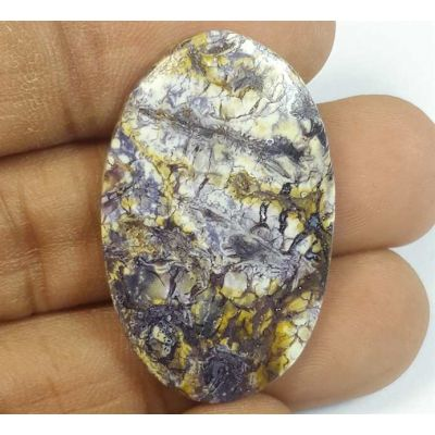 21.59 Carats Tiffany Jasper 33.38 x 20.93 x 4.14 mm