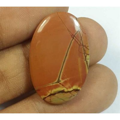 12.44 Carats Cherry Creek Jasper 27.80 x 17.47 x 3.47 mm