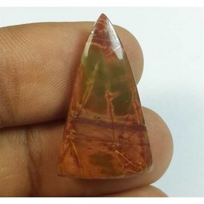 11.65 Carats Cherry Creek Jasper 27.41 x 16.13 x 3.91 mm