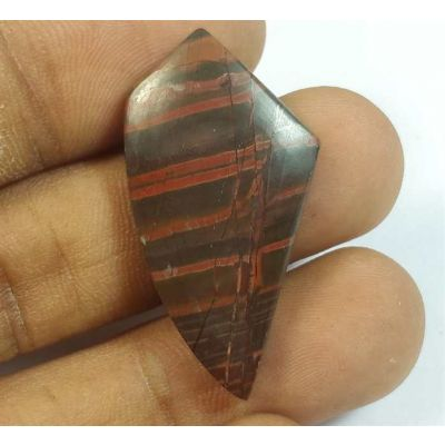 18.69 Carats Cherry Creek Jasper 33.96 x 17.89 x 4.26 mm