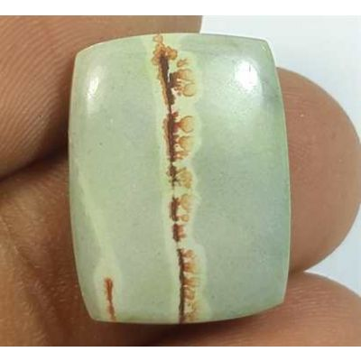 10.58 Carats Cherry Creek Jasper 18.80 x 14.35 x 4.21 mm