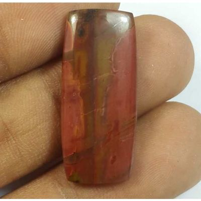 12.41 Carats Cherry Creek Jasper 27.52 x 12.11 x 3.48 mm