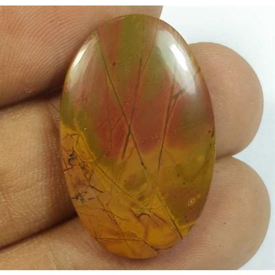 16.55 Carats Cherry Creek Jasper 27.81 x 17.86 x 3.87 mm