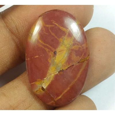 11.87 Carats Cherry Creek Jasper 26.48.17.59 x 3.50 mm