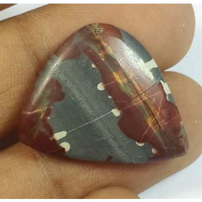 15.35 Carats Cherry Creek Jasper 24.38 x 19.53 x 4.38 mm