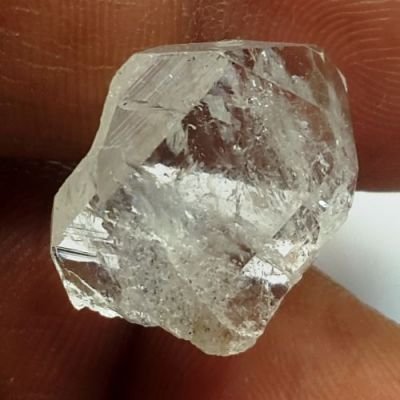12.44 Carats Natural Herkimer Diamond 17.70 x 14.57 x 6.35 mm