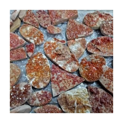 Natural Vanadinite or Wulfenite Wholesale Lot Gemstone