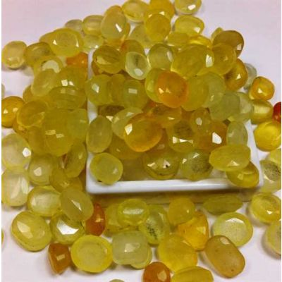 Lab Made Wholesale Lot Yellow Sapphire MM Size Gemstone