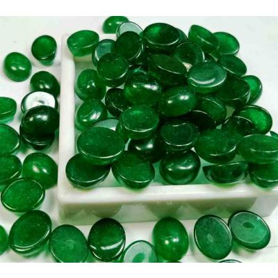 Lab Made Wholesale Lot Green Jade 12x10x6 MM Size Gemstone