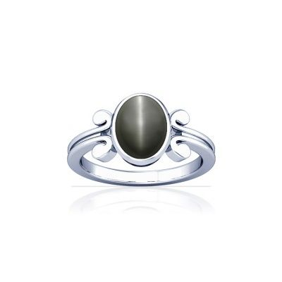 Natural Cats Eye Sterling Silver Ring - K10