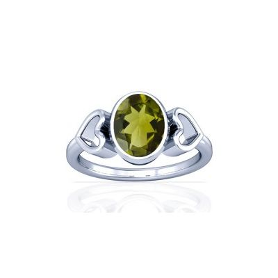 Peridot Sterling Silver Ring - K12