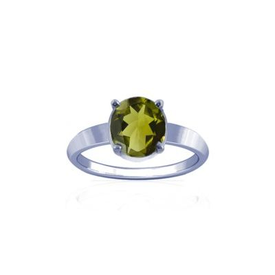 Peridot Sterling Silver Ring - K18