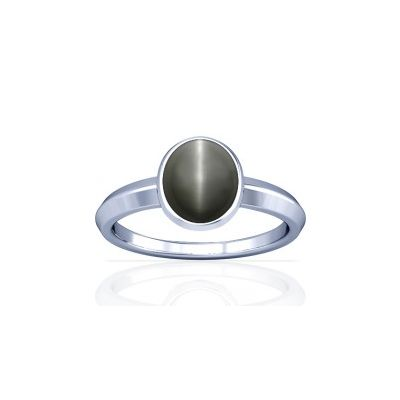 Natural Cats Eye Sterling Silver Ring - K1