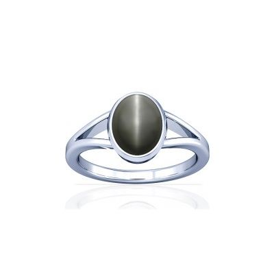 Natural Cats Eye Sterling Silver Ring - K2
