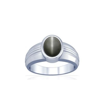 Natural Cats Eye Sterling Silver Ring - K4