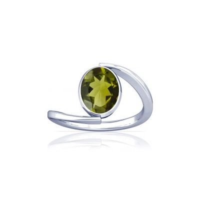 Peridot Sterling Silver Ring - K6