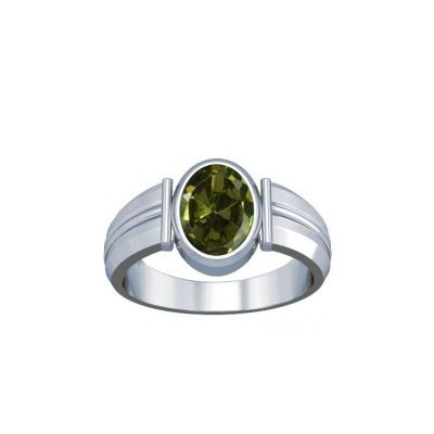 Peridot Sterling Silver Ring - K9