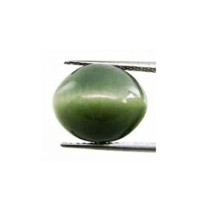 3.14 Carats Natural Cats Eye 10.11x8.58x4.96mm