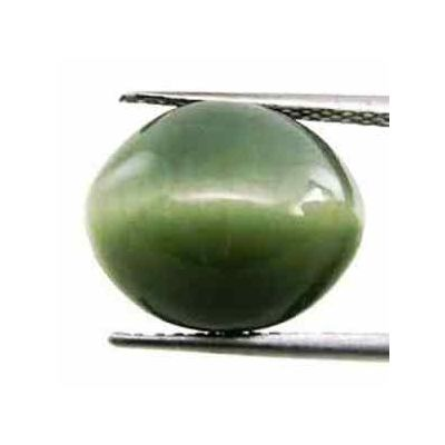 8 Carats Natural Cats Eye Oval Shaped Excellent Quality Gemstone