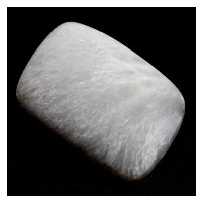 10.81 Carats Natural Selenite 16.98x13.50x5.23mm