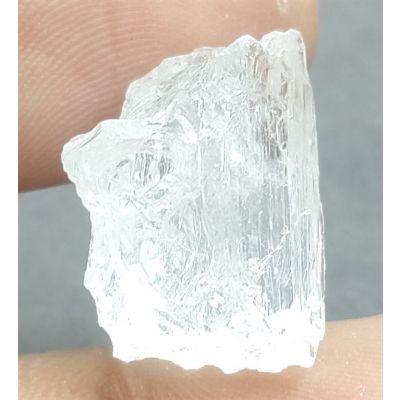 17.36 Carats Natural Danburite Crystal 18.36 X 14.62 X 9.76 mm