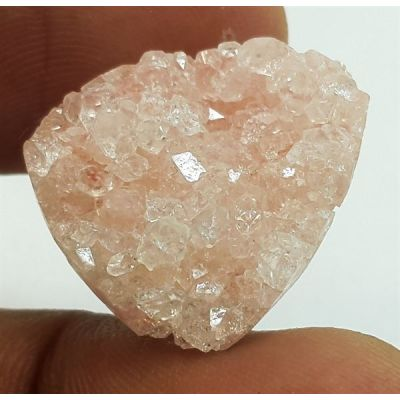 11.96 Carats Natural Apophyllite 14.77 X 14.55 X 5.83 mm