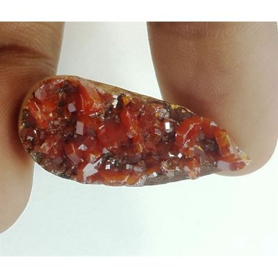 26.64 Carats Natural Vanadinite 30.06 X 12.92 X 7.44 mm